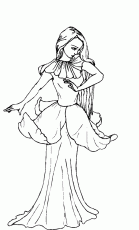 Adult Coloring Pages Fairies | Free coloring pages