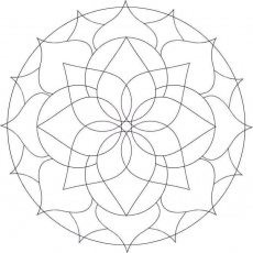 Free Mandalas Design to Color | Coloring Pages