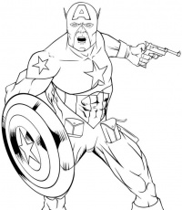 Captain-America-Angry-Coloring