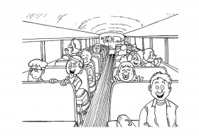 School Bus Coloring Pages - Free Coloring Pages For KidsFree