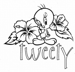 Tweety Coloring Pages To Print | Printable Coloring Pages