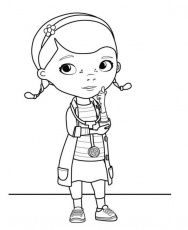 Doc Mcstuffins Pictures To Print Ittle 5 Senses Book Colouring
