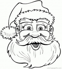 christmas santa drawings