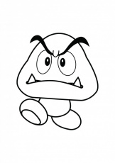 goomba coloring pages