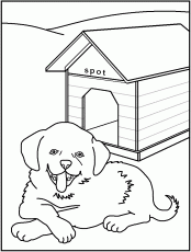 Dogs Coloring Pages Printable
