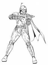 Star Wars The Clone Wars Coloring Pages Printable | 99coloring.com