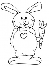 Bunny Coloring Pages | Coloring Lab