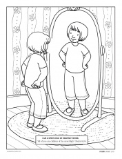 character education coloring pages
