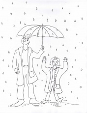 Have Fun Rainy Day Coloring Pages : New Coloring Pages