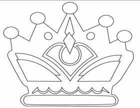 coloring pages crowns