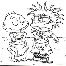 Rugrats Coloring Sheets | Cartoon Coloring Pages | Kids Coloring