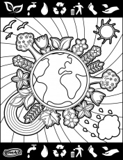 Happy World Environment Day! | Coloring pages