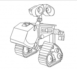 Oculus HomLa wall e Colouring Pages