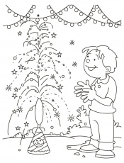 holi worksheet colouring pages