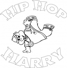 Coloring Pages Of Hip Hop