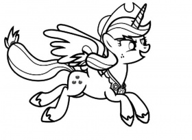 my little pony friendship is magic printable coloring pages ...