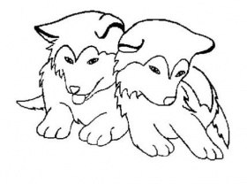 Free Coloring Pages Of Realistic Dog Breeds Coloring Page Of A Dog ...