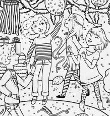 Bonggamom Finds: American Girl Magazine Special Birthday Coloring Page