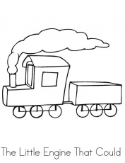 The Little Engine That Could Coloring Pages   Tookogie - Coloring Home