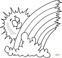 Water Cycle Coloring Pages For Preschoolers Coloring Page