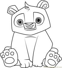 Animal Jam Coloring Pages