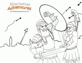 christian-coloring-page-israel-battle-9-cp – Bible Pathway Adventures