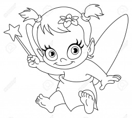 Newborn Baby Girl Coloring Pages | Coloring Online