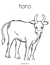 Ferdinand The Bull - Coloring Pages for Kids and for Adults