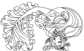 Beautiful Adult Fantasy Coloring Pages Coloring Pages-1209 - Max ...