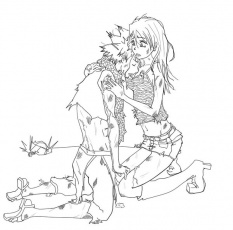 13 images of nalu fairy tail coloring pages fairy tail coloring - Fairy Tail Coloring Pages
