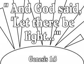 Coloring Bible Verse For Light In The By Number Worksheets ...