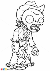 Printable Plants Vs Zombies Coloring Pages - Coloring