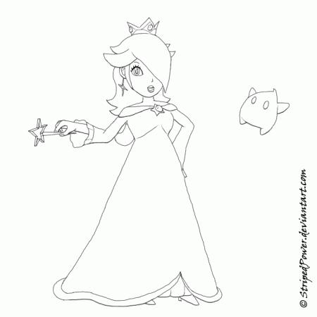 11 Pics Of Chibi Rosalina Coloring Pages Princess Rosalina
