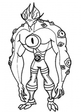 Ben 10 Omniverse - Coloring Pages for Kids and for Adults