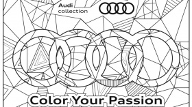 Free Audi Coloring Book Makes The Time Go By Pleasantly