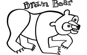 Coloring Pages Of Bears Animal - Kids Coloring Page