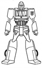 Ironhide Transformers Coloring Page | Coloring Pages | Pinterest ...