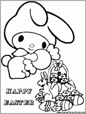 6 Pics of Hello Kitty Bunny Coloring Pages - Hello Kitty Easter ...