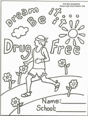 Drug - Coloring Pages for Kids and for Adults