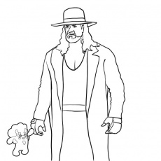 9 Pics Of WWE Raw Coloring Pages
