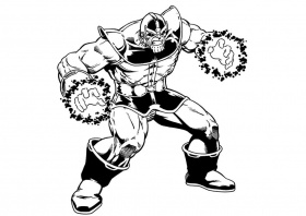 Thanos Coloring Pages - Best Coloring Pages For Kids | Avengers coloring  pages, Avengers coloring, Superhero coloring