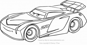 Jackson Storm Coloring Page Inspirational Top 10 Disney Cars 3 Coloring Pages In 2020 Turtle Coloring Pages Race Car Coloring Pages Coloring Pages Coloring Home