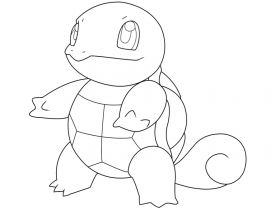 Printable 14 Pokemon Coloring Pages Squirtle 3378 Pokemon