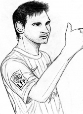 Lionel Messi Coloring Pages Lionel Messi Coloring Page Messi