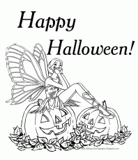 Halloween Pictures To Print And Color - Coloring Pages for Kids ...