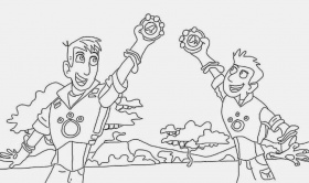 gallery of wild kratts coloring pages wild kratts dolphin