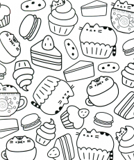 Kawaii Coloring Pages – coloring.rocks!