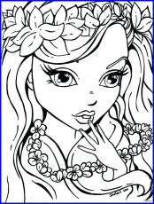 The best free Makeup coloring page images. Download from 210 ...
