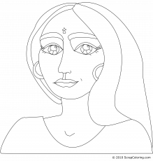6 Pics of Indian Girl Face Coloring Page - Indian Woman Coloring ...