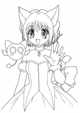 free anime coloring pages anime wolf girl coloring pages page free free  anime coloring pages anim… | Chibi coloring pages, Anime wolf girl, Coloring  pages for girls